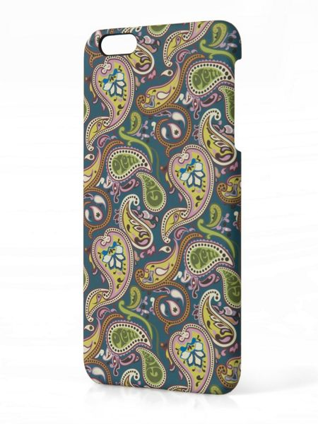 Pretty Green Vintage Paisley Iphone6 Plus Case