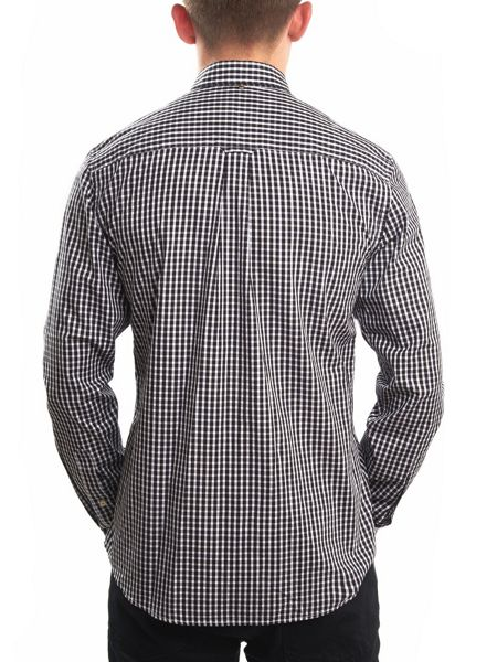 Pretty Green Slim Fit Ebsworth Gingham Shirt