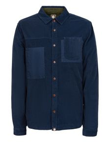 Pretty Green Slim Fit Baslow Cord Shirt