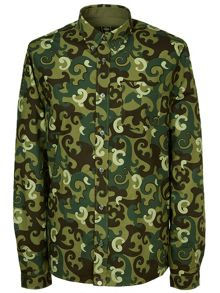 Pretty Green Riley Print Shirt