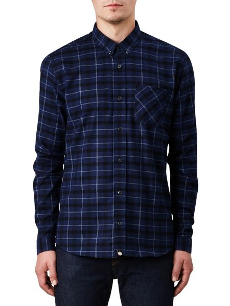 Pretty Green Slim Fit Enderby Check Shirt