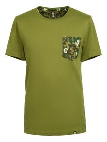 Pretty Green Riley Pocket T-Shirt