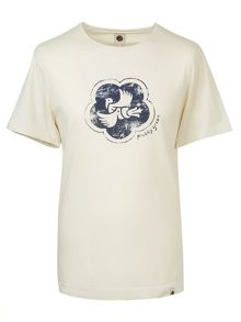 Pretty Green Peace Badge T-Shirt