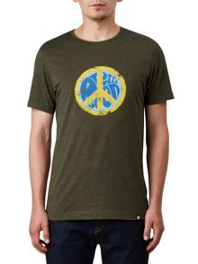 Pretty Green CND Badge T-Shirt