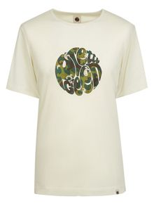 Pretty Green Riley Print Logo T-Shirt