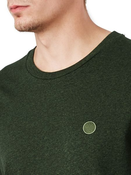 Pretty Green Moulin Marl Crew Neck T-Shirt