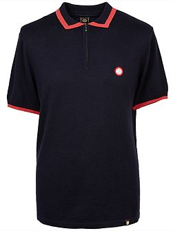 Lowry Zip Knitted Polo