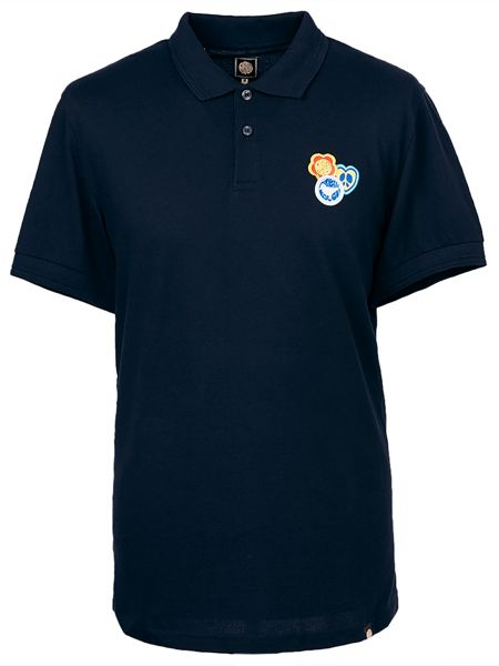 Pretty Green Short Sleeve Colwell Badge Polo