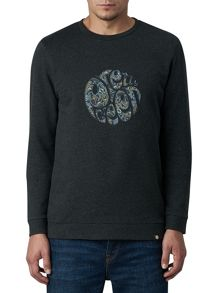 Pretty Green Stretford Applique Sweater