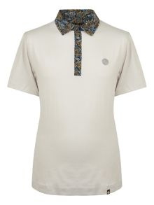 Pretty Green Stretford Paisley Collar Polo