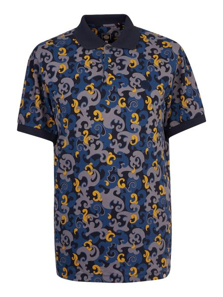 Pretty Green Riley Print Polo