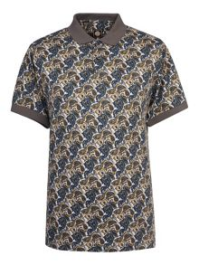 Pretty Green Stretford Print Polo