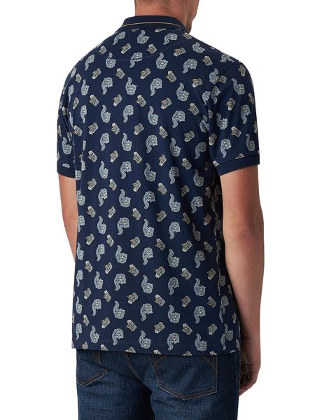 Pretty Green Bonhill Paisley Polo