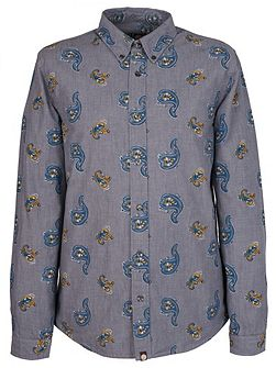 Kelby Print Chambray Shirt