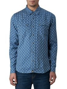 Pretty Green Bowers Western Shirt