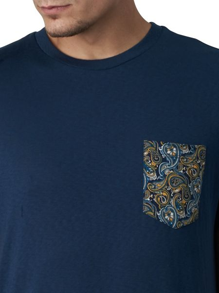 Pretty Green Stretford Pocket T-Shirt