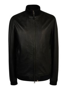 Pretty Green Rider Leather Jacket
