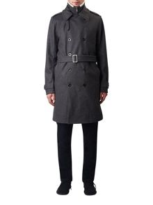 Pretty Green Wool Astley Trench