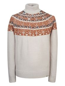 Pretty Green Abbott Roll Neck Sweater