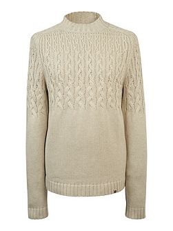 Edale Cable Knit Jumper