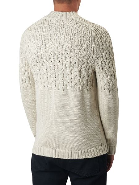 Pretty Green Edale Cable Knit Jumper