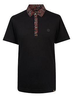 Turner Paisley Collar Polo