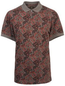 Pretty Green Turner Paisley Polo