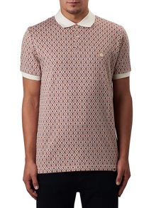Pretty Green Abbott Jacquard Polo