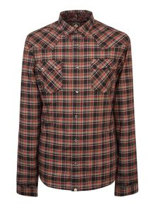 Pretty Green Stonall Western Shirt