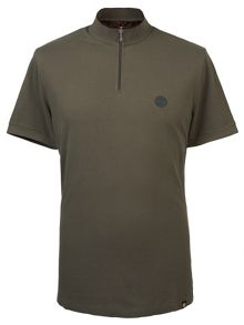 Pretty Green Turner Zip T-Shirt