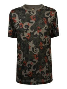 Pretty Green Riley Print T-Shirt