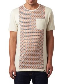 Pretty Green Abbott Panel Print T-Shirt