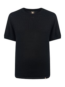 Edale Cable Knit T-Shirt