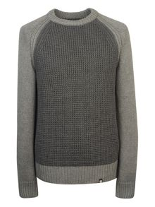 Pretty Green Flaxwood Crew Neck Sweater