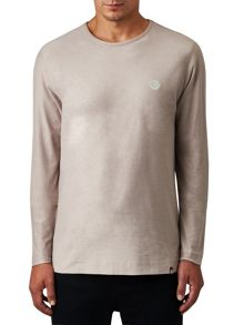 Pretty Green Long Sleeve Dunham T-Shirt