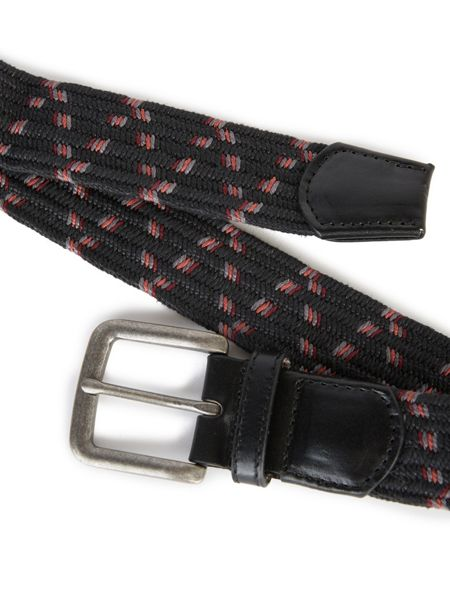 Pretty Green Pinnacle Multi Stripe Belt