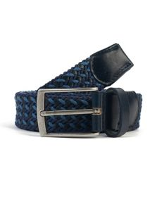 Pretty Green Springfield Woven Belt