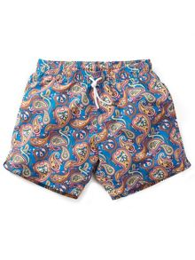 Pretty Green Vintage Paisley Swim Shorts