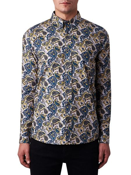 Pretty Green Stretford Print Shirt