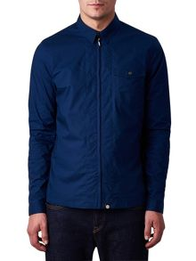 Pretty Green Stretford Zip Front Shirt