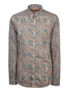 Pretty Green Mosswood Liberty Print Shirt