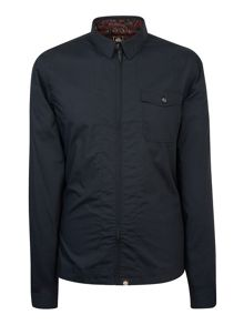 Pretty Green Turner Zip Front Shirt