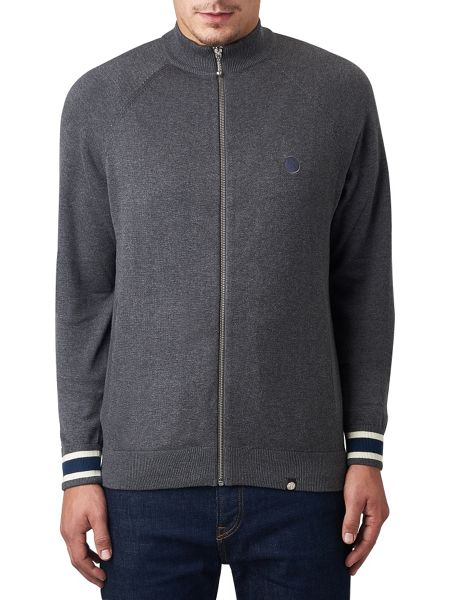 Pretty Green Mandeville Knitted Track Top