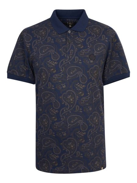 Pretty Green Talma Paisley Polo