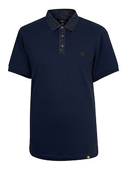 Talma Paisley Collar Polo