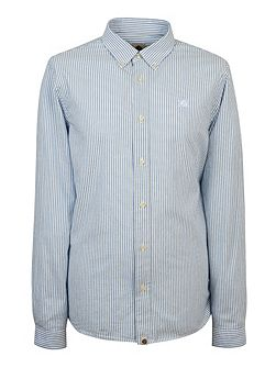 Cheetham Stripe Oxford Shirt