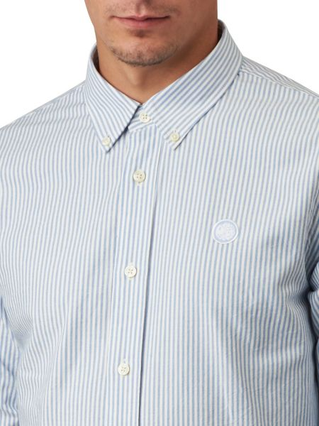 Pretty Green Cheetham Stripe Oxford Shirt