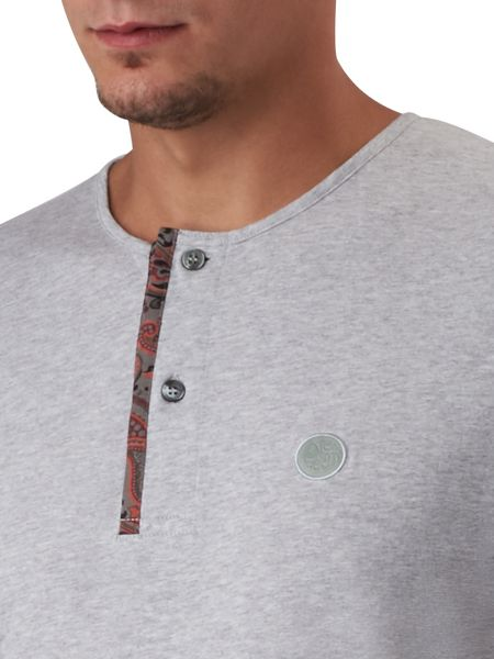Pretty Green Turner Paisley Placket Grandad