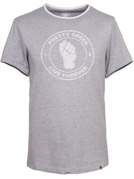 Pretty Green Live Forever T-Shirt
