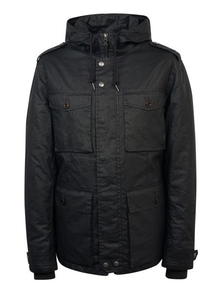 Pretty Green Crester Parka